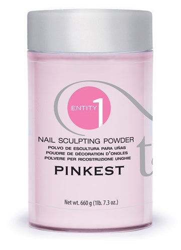 ENTITY Sculpting Powder Pinkest Pink 660g | 23.3 oz #101143-Beauty Zone Nail Supply