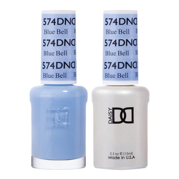 DND Duo Gel & Lacquer Blue Bell #574