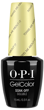 OPI GelColor Towel Me About It #GCR67