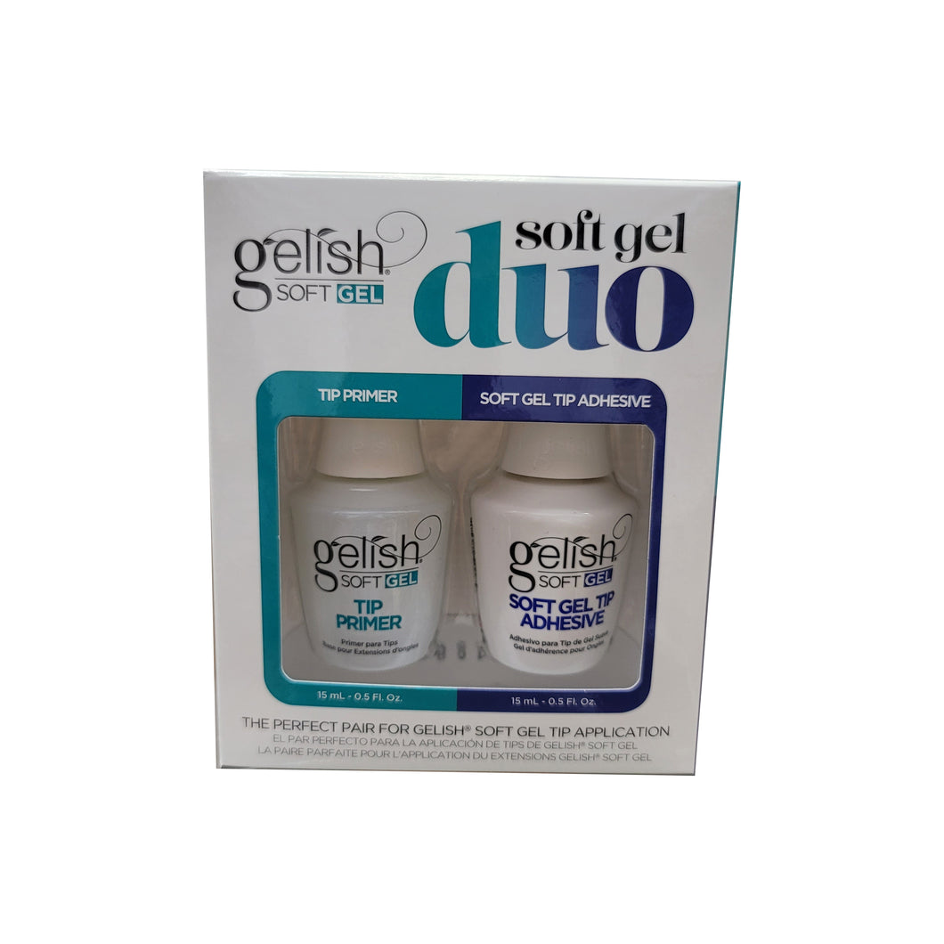 Gelish Soft Gel Duo Primer 0.5 oz & Adhesive 0.5 oz #1121802-Beauty Zone Nail Supply