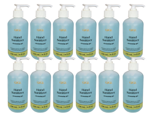 Gigi Hand Sanitizer Cleansing Gel Destroys Germs Free Ship (12x$6)-Beauty Zone Nail Supply