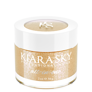 Kiara Sky All In One Dip Powder 2 oz Champagne Toast D5025-Beauty Zone Nail Supply