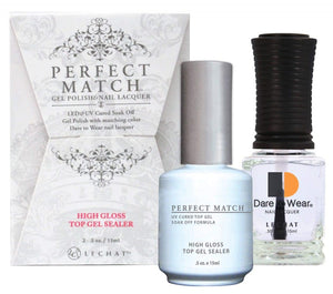 Lechat Perfect Match Duo TOP (Gel & Lacquer) PMT03-Beauty Zone Nail Supply