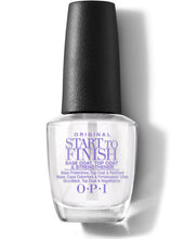 Load image into Gallery viewer, OPI Nail Lacquer Top Base Start To Finish 0.5 oz