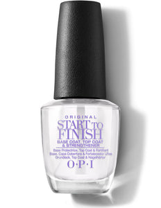 OPI Nail Lacquer Top Base Start To Finish 0.5 oz