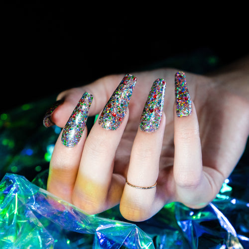 Perfect Match Glitter Gel Skydust Solar Flare GG03-Beauty Zone Nail Supply