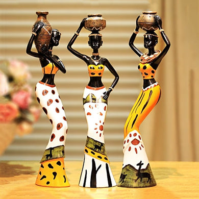 African Ladies Home Decor