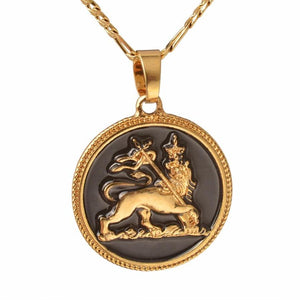 Lion Pendant & Necklace