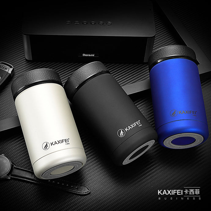 Stainless Steel Round Shape Insulated Travel Mug
