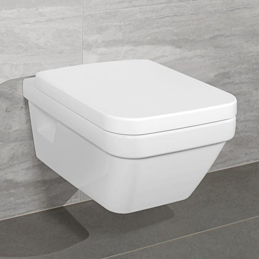 Set vas wc suspendat Direct Flush, dreptunghiular, Architectura