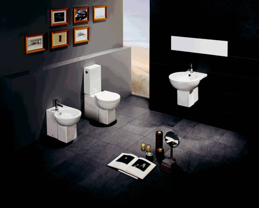 Set vas WC monobloc Assimetrica