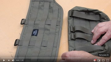How to correctly attach your TwinNeedle pouches using the PALS / MOLLE system.