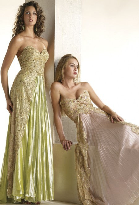 D1116 - Embellished Evening Gown