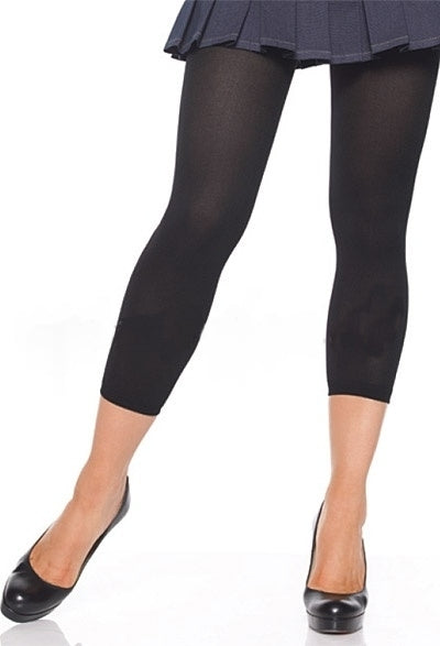 A331 - Opaque Footless Tights by Leg Avenue