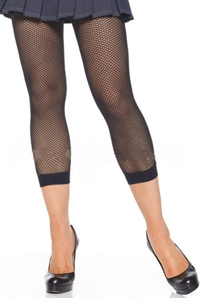A333 - Lycra Fishnet Footless Tights by Leg Avenue