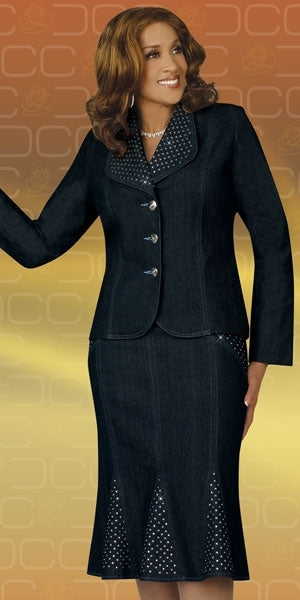 C1190 - Ladies Denim Suit