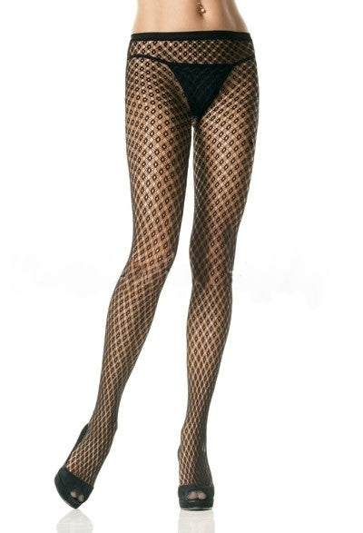 A343 - Seamless Lycra 3 Strings Pantyhose by Leg Avenue