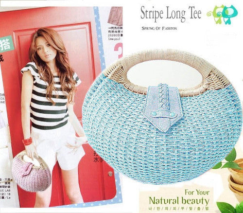 A154 - Lovely Straw Bag