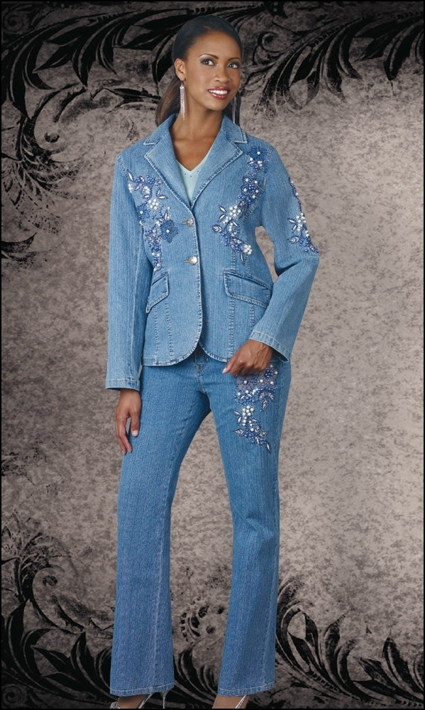 C309 - Exotic Ladies Denim Set