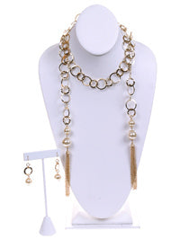 A325 - Open Metal Chain Necklace