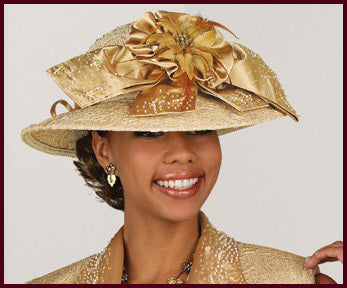 A722 - Exquisite Hat by Donna Vinci