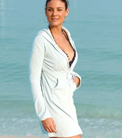 S734 - Abaco Towelling Dress