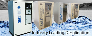 Industry Leading Desalination units
