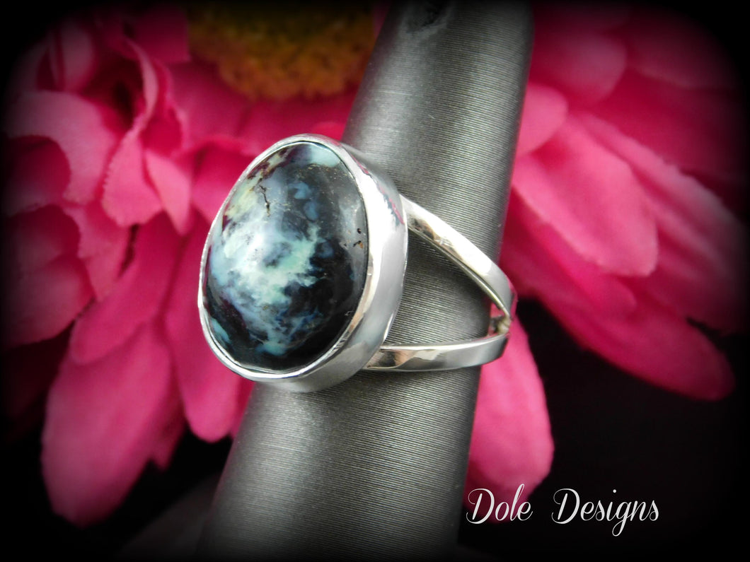 RARE New Lander Turquoise Split Band Ring