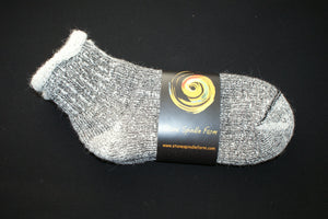 Alpaca short work socks