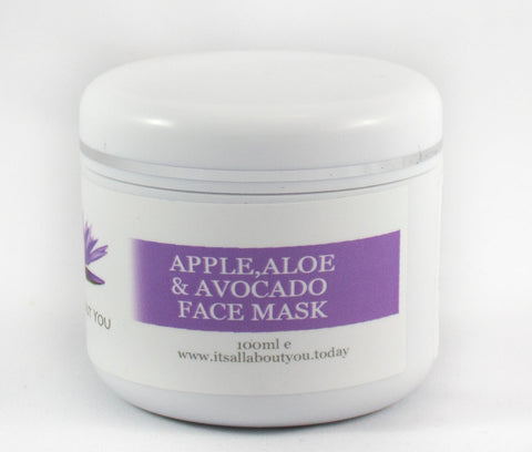 Apple, Aloe & Avocado Face Mask