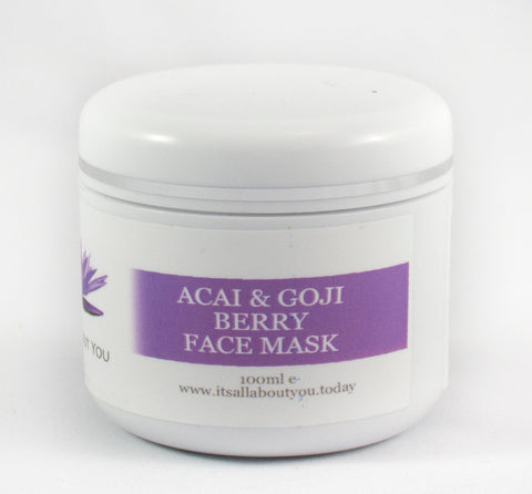 Açai, Goji Berry Face Mask