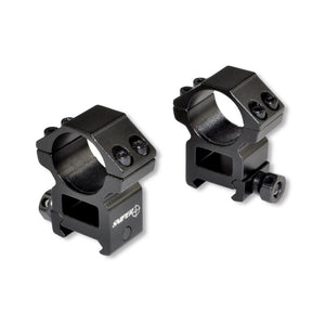 "1"" High Profile Ring Mount Set - 3CR Tactical"