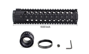 "10"" Black Rail 10CUN-SI - 3CR Tactical"