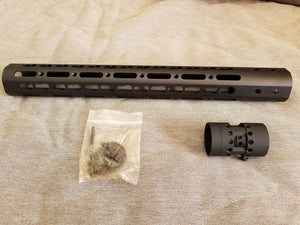 "10"" Ultra-Light Super Slim Free-Float Keymod Rail - 3CR Tactical"