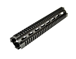 "12.5"" Low Profile Rifle Length 2 Piece Drop-in Quad Rail for .308 DPMS - 3CR Tactical"