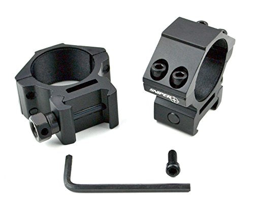 30mm Diameter Scope Ring Mount for Picatinny/Weaver Mount System - 3CR Tactical
