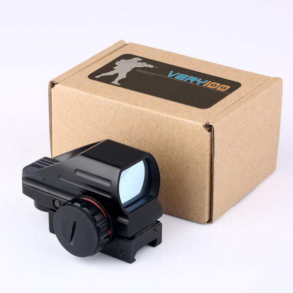 Tactical Reflex Red/Green Laser Holographic Projected Sight for Picatinny Rail Mount - 3CR Tactical