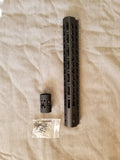 "9"" Ultra-Light Super Slim Keymod Free Float Rail - 3CR Tactical"