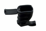 Black Overmolded Beavertail Pistol Grip with Storage Compartment - 3CR Tactical