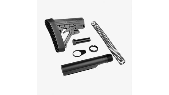 Grey Omega Stock Mil-Spec Assembly Kit - 3CR Tactical