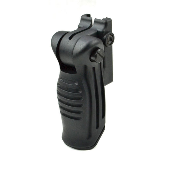 Tactical Ergonomic 5-Position Folding Vertical Foregrip For Picatinny Rail Mount - 3CR Tactical