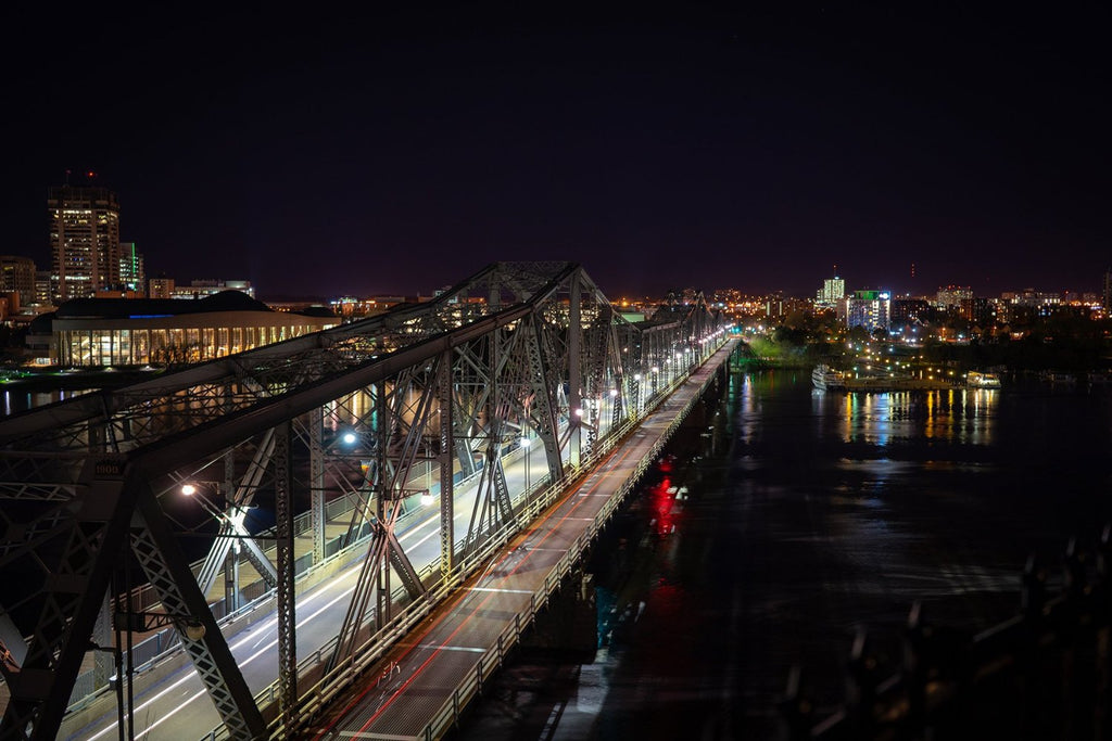 Alexandra Bridge from Nepean Point, Ottawa, Canada | Ottawa Photography | ZNA Creative