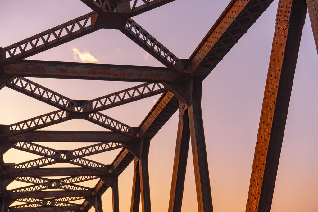 Print of Wales Bridge Ottawa, Ontario, Canada | Sunset | ZNA Creative