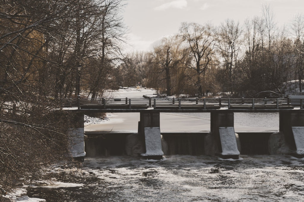 Winter Bridge | Watson's Mill | Manotick, Ontario, Canada | Ottawa Photography | ZNA Creative