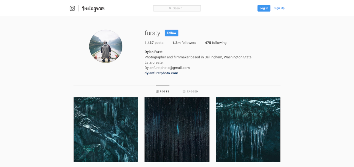@Fursty Instagram Profile