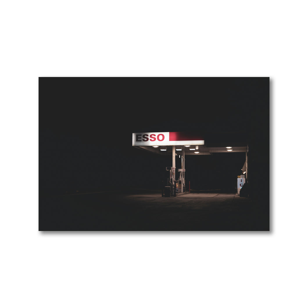 Rural Gas Station