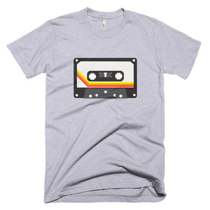 Retro tape cassette t-shirt