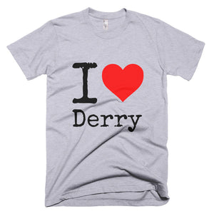 I Heart Derry T-Shirt Grey