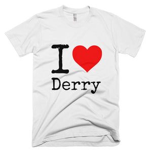 I Heart Derry T-Shirt White