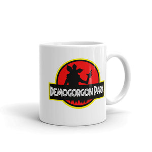 Demogorgon Park Mug - Pop Culture Mug Mashup